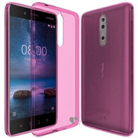 Nokia 8 Gel Case Rose