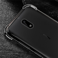 Nokia 2 Shockproof Transparent Gel Case