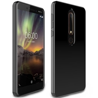 Nokia 6.1 (2018) Black Gel Case
