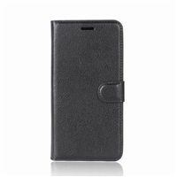 Nokia 7 Plus Wallet Case Black