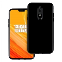 Oneplus 6 Gel Case Black
