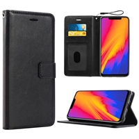 Oneplus 6T Wallet Case Black