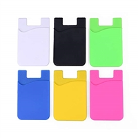 AA-0210 Phone Card Holder Adhesive Pouch Mix Color (MOQ 5 PCS)