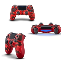 Playstation PS4 Dual Shock Six-axis Wireless Bluetooth Remote Controller Red Camoluge