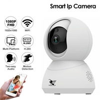 SkyAnt XY-R9820-K1 360Eye 180 Degree Panoramic IP Smart Camera WiFi Home Kit Security Monitor