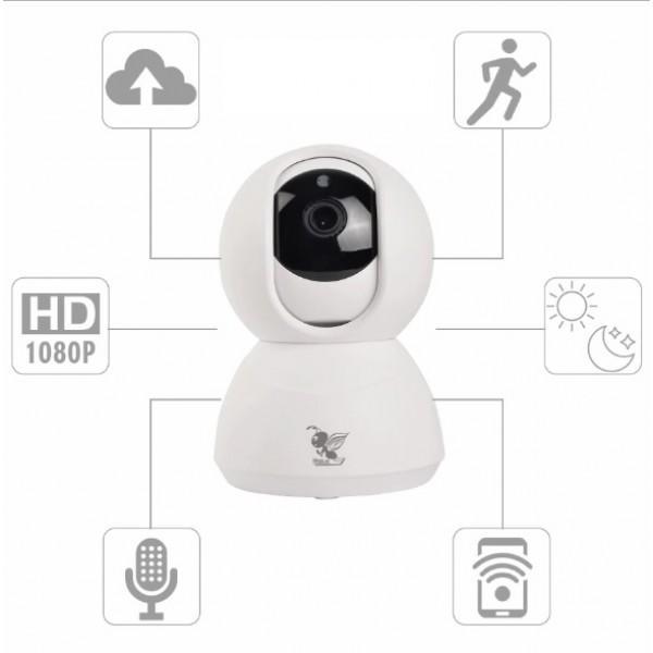 SkyAnt XY-R9820-K1 360Eye 180 Degree Panoramic IP Smart Camera WiFi Home  Kit Security Monitor