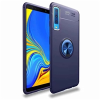 Redmi 6 Autofocus 360 Shockproof Case With Ring Holder Blue
