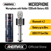 Remax K05 Wireless Microphone With Build in Speaker Black