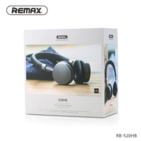 Remax RB-520HB Wireless Bluetooth Headphone Black