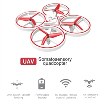Smartwatch Intelligent 4-axis Aircraft Q3 Drone White