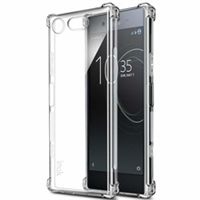 Xperia XZ1 Shockproof Transparent Gel Case