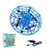 Air pressure fixed four-Axis UFO Mini Drone Blue