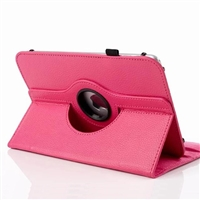Universal 7-8'' 360 Rotaion Wallet Case Rose