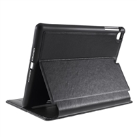 Universal iPad 9.7'' Wallet Case with Pen Holder Black