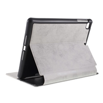 Universal iPad 9.7'' Wallet Case with Pen Holder Dark Grey