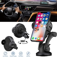 Koakuma W5 Infrared Auto Induction 10W  Fast Wireless Car Charger
