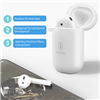 Wiwu Air Solo Touch Control Bluetooth Earphone White (Left)