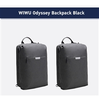 "Wiwu WB-104BK Odyssey Waterproof 15.6"" inch Backpack Black"