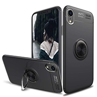 Xiaomi Mix 2S Autofocus 360 Shockproof Case With Ring Holder Black