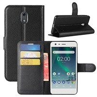 Xiaomi Redmi 5 Plus Wallet Case Black