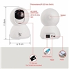 Cloud Ant XY-R9820-F4 360Eye 180 Degree Panoramic WiFi IP Camera 200W White