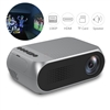 YG-320 Mini 1080P Portable LED Projector For Home Cinema Grey/Black