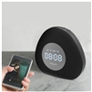 Zealot S23 Multifunctional Wireless Bluetooth Speaker With Clock and Dimmable LED Light Black