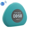 Zealot S23 Multifunctional Wireless Bluetooth Speaker With Clock and Dimmable LED Light Blue