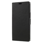 Alcatel A3 XL Premium Wallet Case Black