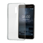 Nokia 6 Shockproof Transparent Gel Case