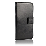 Nokia 6 Wallet Case Black