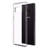 Galaxy Note 8 N950F Gel Case Transparent