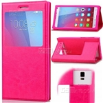 Univallet Case Silicone Smart Touch View Window 3.6'' to 4.0''